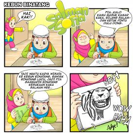 Salman Sofia : Anak Muslim Sholeh : Komik