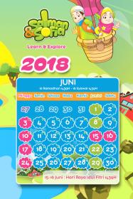 kalender tahun 2018 salman sofia juni