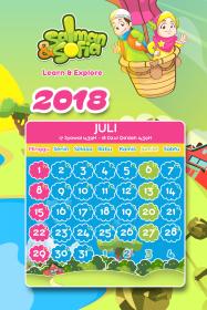 kalender tahun 2018 salman sofia juli