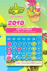 kalender tahun 2018 salman sofia september
