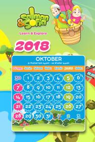 kalender tahun 2018 salman sofia oktober