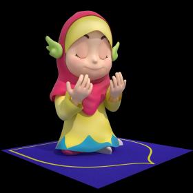 kartu muslim cerdas salman sofia